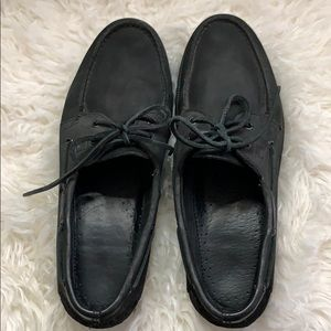 Sperry Shoes - Sperrys black shoes.